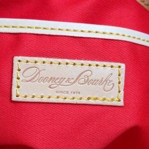 Dooney & Bourke Bags - Dooney & Bourke Cheveron Drawstring Tote Like New